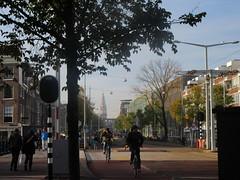 Amsterdam snapshot (Matty J. Le Cocq) Tags: city travel urban amsterdam bike bicycle cyclist snapshot