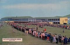 Butlins Bognor Regis - Sports Day (trainsandstuff) Tags: butlins bognorregis holidaycamp postcard vintage retro old history archival holidaycentre