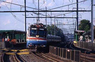 Amtrak 942 at Elizabeth, NJ
