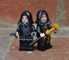 Lego Assassin's Creed Syndicate, Jacob and Evie Frye (Finlay Yusef-Cook) Tags: game lego jacob evie creed frye assassins legography