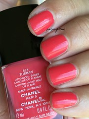 Chanel Turban (purple yellow) Tags: nail polish turban chanel 524