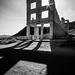 The ghost town - Rhyolite, United States - Black and white photography