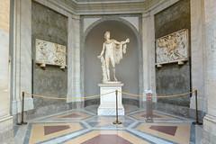 Apollo Belvedere (Francisco Anzola) Tags: sculpture vatican art greek roman classical apollo antiquity vaticancity vaticanmuseums apollonian