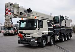 MB Actros 5548 (Vehicle Tim) Tags: truck mercedes crane kran fahrzeug lkw terex actros autokran kranwagen