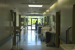 on the rounds (Lou Musacchio) Tags: canada hospital quebec montreal healthcare lasallehospital