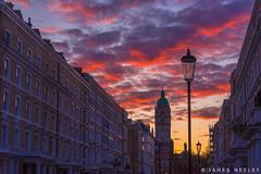 Elvaston Sunrise (James Neeley) Tags: london sunrise queenstower jamesneeley elvastonplace