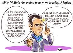 Lobby di Maio (Moise-Creativo Galattico) Tags: lobby vignette satira attualit moise giornalismo dimaio editoriali moiseditoriali editorialiafumetti m5s