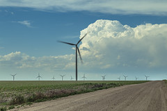 Wind turbines of Eastern CO. (cowxguy) Tags: wind turbines plains praries colorado clouds cumulus cedar point vestas