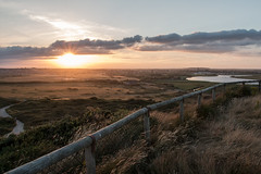 Hengistbury Head Sunrise (BournemouthMike) Tags: hengistburyhead bournemouth dorset landscape sunset evening canon canon70d clouds sun christchurch priory