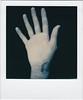 Open wrist, insert screw. (thart2009) Tags: impossibleinstantlab thart2009 hand stiches