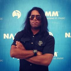 Sergio Michel at NAMM - Floyd Rose (sergiomichelmusic) Tags: show music sergio rose rock nashville guitar hard anaheim michel floyd guitarist hardrock namm floydrose nammshow sergiomichel
