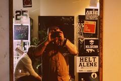 Self Portrait (Birds With Records) Tags: northside grimfest danmarks grimmeste festival captain casanova guitar alternative self portrait voxhall vega aarhus copenhagen psyched up janis raveonettes mirror depression subpop nirvana levis ballons jesper junglw