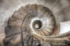 spiral staircase (flowerpower.1969) Tags: stairs stiege stufen treppe wendeltreppe stiegenaufgang spiral staircase
