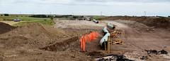 The Dakota Access Pipeline (under construction) (Lars Plougmann) Tags: oil pipeline pylon southdakota construction electricity dig dscf1812