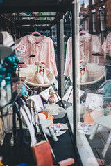 The precious things of the shop (I AM JAMIE KING) Tags: bridlington display reflection shop shopfront streetphotography vintage windowdisplay window reflect poodle nightgown