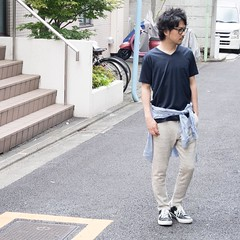July 23, 2016 at 02:32PM (audience_jp) Tags: shop fashion japan audienceshop  ootd   kouenji snap  aud1545    upscapeaudience tokyo madeinjapan audience  coordinate