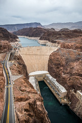 Hoover Dam (Serendigity) Tags: dam usa hooverdam desert water lakemead nevada engineering coloradoriver arizona unitedstates