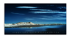 Blue Stratus (RonnieLMills) Tags: islandhill scrabo tower strangford lough infra red linear clouds stratus bluestratus