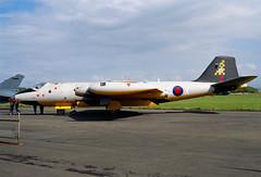 ALAN_POTTS_19870530_0005 (Spuggs) Tags: ayr ayrshire uk gbr glasgowprestwickairport prestwickairport hmsgannet pik egpk prestwickairshow airshow wj636cx englishelectriccanberratt18 canberratt18 100squadron royalairforce raf jet aircraft military hasselbladx5