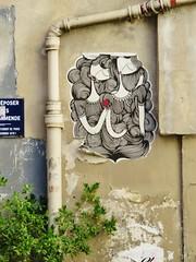 Sonke / Paris - 29 jul 2016 (Ferdinand 'Ferre' Feys) Tags: paris france streetart artdelarue graffitiart graffiti graff urbanart urbanarte arteurbano sonke pasteup wheatpaste
