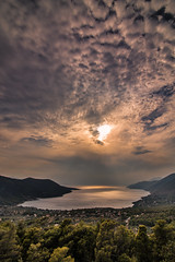 Afternoon view (Vagelis Pikoulas) Tags: view landscape sea seascape porto germeno greece august summer 2016 travel holidays sky clouds cloud cloudy canon 6d tokina 1628mm