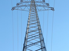 Power (gittermasttyp2008) Tags: energy strommast strommasten strom stahlgittermast stahl starkstrom stromleitung stahlmast spatziergang electricitytower energie erdseil gittermast highvoltage