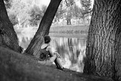 Buket (gizemsaray) Tags: people sit sitting seated landscape analog 35mm film minolta x700 analogue backportrait