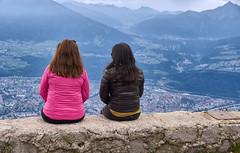 Amigas - Freundinnen - Friends (Ernst_P.) Tags: alpen alps amigas austria autriche berg freundinnen friends gebirge hafelekar innsbruck landscape landschaft sterreich paisaje tirol tyrol aut