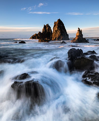 Camel Rock flow || Bermagui (David Marriott - Sydney) Tags: wallagalake newsouthwales australia au bermagui sunrise water flow seascape camelrock ocean