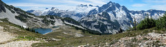 Tapto Panorama (Laura Jacobsen) Tags: backpacking hiking nationalpark northcascades northcascadesnationalpark washington