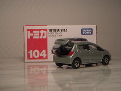 Toyota Vitz / Yaris 1:64 Diecast by Tomica (PaulBusuego) Tags: toyota yaris echo vitz hatchback 4 door 5 3 doors bplatform vios ractis auris fwd front wheel drive belta xp130 diecast scale model miniature tomy takara tomica collection 2011 metal plastic hatch japan japanese domestic market jdm hybrid subcompact supermini mini compact asia asian