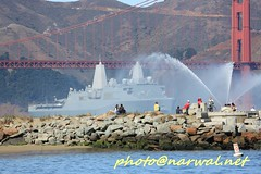 USS San Diego (LPD 22) (Narwal) Tags: fire department sffd golden gate bridge  sfo sanfrancisco california ca us usa    marina district fleet week sf 2016  uss san diego lpd 22 parade ships