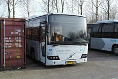 Connexxion 3522 (Volvo 8700) ([Publicer Transport] Ricardo Diepgrond) Tags: connexxion 3522 volvo 8700 bus depot almere buiten interliner grijs