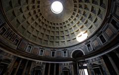 The Oculus Illuminates the Pantheon and Amazes the Ages