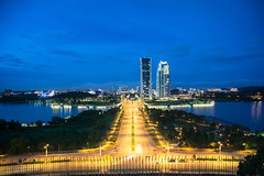 Night view Picc (Alex cheong) Tags: nightscape malaysia bluehour putrajaya picc canon24105mm apsc singleraw a6000 cropsensor