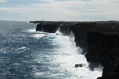 looking for Nulu (2 of 5) (rovingmagpie) Tags: hawaii lava surf bigisland hawaiivolcanoesnationalpark chainofcratersroad turtleslava2014 nuluseaarches