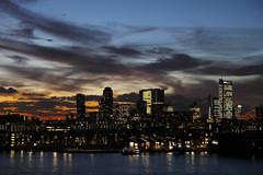 - sunset Rotterdam november 2014 - (Jacqueline ter Haar) Tags: sunset zonsondergang rotterdam skyline cityscape explore avond wow night