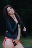 DSC_4838 (TimMurphyPhotography) Tags: girl leather model badass jacket bikini brunette cheyenne bikinimodel