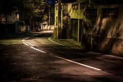 Neighbourhood at night [Explored] (_Franck Michel_) Tags: street city dark explorer explore sombre rue nuit ville nigut explored