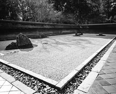 Ryan-ji, Kyoto Japan (E_O_S) Tags: rock japan garden temple kyoto buddhist zen fujifilm acros rinzai gf670w