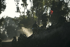 Nahal Brigade Military Exercise (Israel Defense Forces) Tags: red infantry training soldier army israel exercise military soldiers golanheights idf israeliarmy nahal israeldefenseforces
