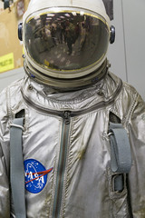 Flight Suit in the Aircrew Life Support Systems building