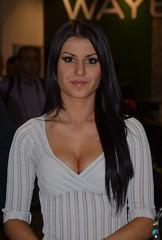 Eicma 2014 Model (344) (Pier Romano) Tags: woman sexy girl beautiful model milano babe salone moto motorcycle belle donne hostess bella brunette bruna bellezza fiera ciclo esposizione rho 2014 ragazze modelle eicma