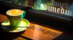 Dunedin Coffee (five15design) Tags: newzealand coffee cafe break southisland otago dunedin otepotei