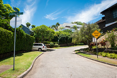 DEAD END. (PeeterTomson) Tags: life road red summer hawaii paradise oahu head good diamond explore fujifilm honolulu xa1