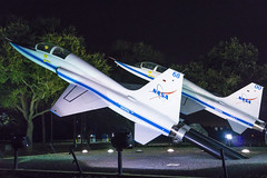 Two T-38s at Space Center Houston