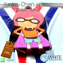 Junko-Chan Collection สายเอี้ยมเด็กเล็ก (Cute Suspenders) สำหรับเด็กเล็กประมาณ 5 ขวบ การ์ตูนญี่ปุ่น เสื้อส้ม