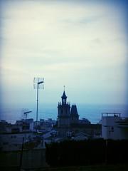 (gl_vic) Tags: morning blue autumn winter sea sky church town december village today antennas