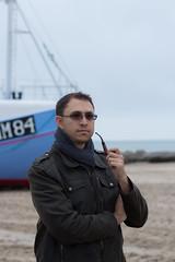 Thorup Strand Beach - Jutland (virtualwayfarer) Tags: beach self boat fishing ship explorer pipe smoking adventure explore smoker fishingboat traveler adventurer selfie pipesmoking thorup jammerbugt lildstrand thorupstrand alexberger thorupbeach