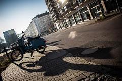 Schwalbe (Pellkartoffel91) Tags: old light shadow berlin bike vintage licht alt rusty retro motorbike roller verrostet schatten rostig schwalbe